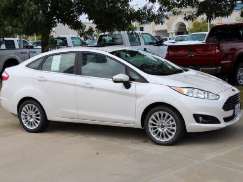 2016 Ford Fiesta Titanium For Sale Weatherford Tx 1 6 L